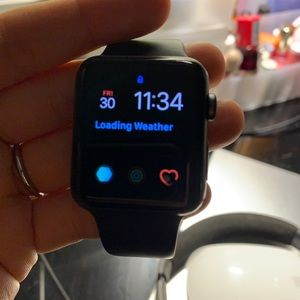 Space Gray Apple Watch Series 3 42mm
